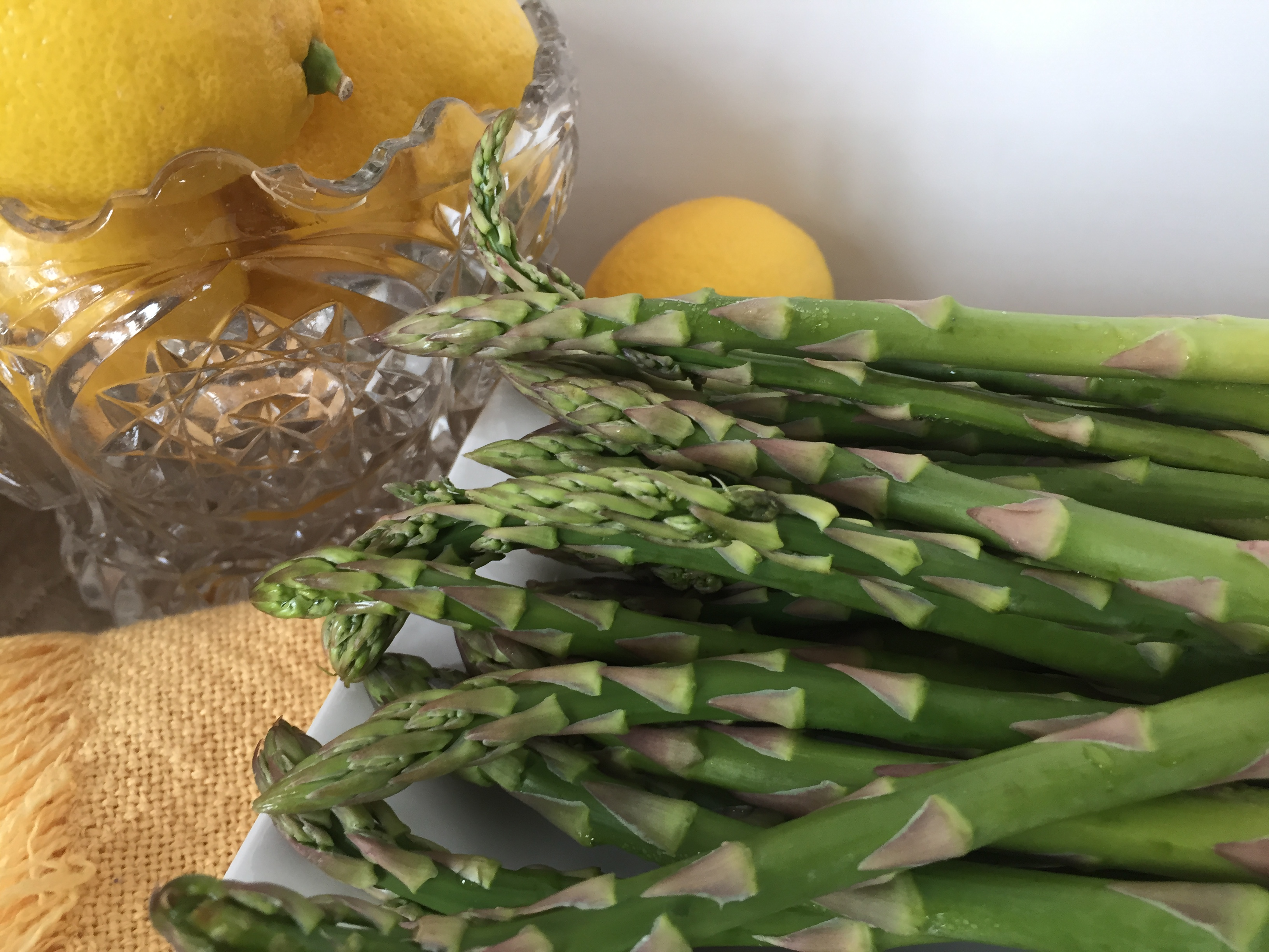 asparagus is a springtime harvest